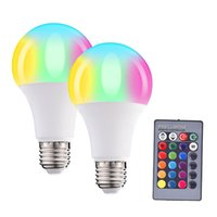 LED Bulbs Dimmable Color Changing Light Bulbs A19 7W 60W Equivalent, Multicolor Decorative No Hub Required Smart LED Bulbs