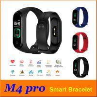 New Electronic Product Sport-Uhr-M4 Pro Smart Watch-Körper-Temperatur-Eignung-Band Smart-Armband-Armband-Silikon-Armband