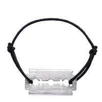 Preço de atacado Real 925 pulseira de prata esterlina para mulheres na moda jóias corda prata lâmina bracelete França tipo menottes homem