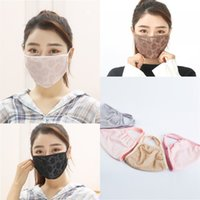 Protective Reusable Mascarilla Breathable Women Mouth Respirator Flower Foldable Face Mask Earloop Two Layers Fashion Festival 1 9as B2