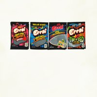 Errlli Sour terp Crawlers Bag 3.5g 600mg Candy Gummy Edibles Gummies Very Berry Childproof Mylar Child Proof Packaging Bags