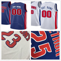 Custom Printed Jerseys Top Quality 2020 New Man Red White Bl...