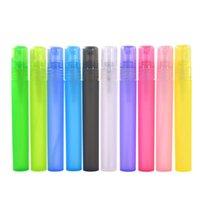 Ücretsiz kargo 1 / 3oz Plastik Parfüm Şişesi, PP Parfüm Testi Şişe, 10ML Parfüm Şişesi LX2852 Sprey