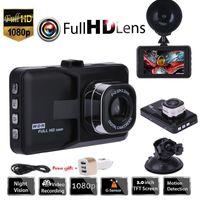 """3.0"""" véhicule 1080P DVR Dashboard 32Go DVR Caméra carte mémoire de l'enregistreur vidéo Dash Cam G-Sensor GPS Livraison gratuite"""