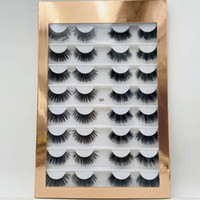 wholesale 16pair natural 3d slik lashes books  faux mink eye...