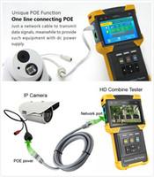 "4K H.265 HD IPC CCTV Test Cihazı 4.0 ""Temel OnVIF Test Desteği POE, TDR Kablosu"
