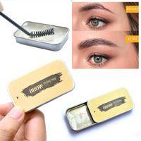 3D-Augenbrauen-Soap Gel Wasserdicht Seife Brow Makeup Kit Dauerhafte Augenbraue Gel Frauen Augenbrauen Pomade Kosmetik