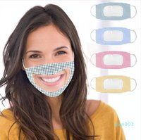Deaf Mute Aascarillas Transparent Dustproof Respirator Mouth...
