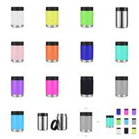 12 oz Vasos de 13 colores de Coca-Cola latas botella de agua de acero inoxidable Vasos Tazas Leche ventosa de vacío con la tapa CYZ2732 transporte marítimo de