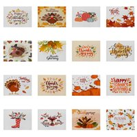 Thanksgiving Cotton and Linen Placemat 32m*42cm Autumn Happy Thanksgiving Turkey Single-sided Printed Tablemat Hotel Restaurant Placemat