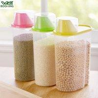 WBBOOMING Cuisine Container Sealed Grains plus nettes des réservoirs de stockage de cuisine Triage du riz boîte de rangement bouteilles et bocaux conteneurs