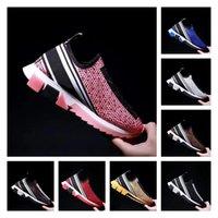 3Fashion مع صندوق حذاء رياضة أحذية عادية أحذية المدربين أزياء رياضية جلدية عالية الجودة أحذية صنادل خمر الهواء لرجل امرأة