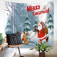 Merry Christmas Tapestry soft Wall Hanging decoration comfor...