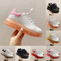 2020 Newest Fashion Kids Shoes High Quality Flats White Chil...