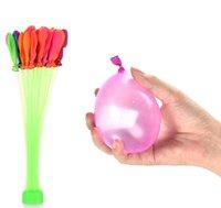111Psc agua colorido llenado de los globos de verano niños al aire libre fiesta de jardín Jugar en el agua por los niños juguetes Rápido Fácil llenado de agua 04