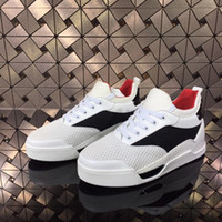 Sports d'été Panier Chaussures Hommes Low Top Aurelien Red Bottom Shoes Cheap original Red Sole Souliers simple