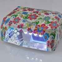 العديد من نمط لاختيار المهنية 36W الماس على شكل LED مصباح آلة مسمار مسمار مجفف الفن مصباح أداة العناية الأشعة فوق البنفسجية هلام البولندية