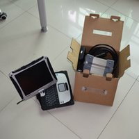 mb star c3 with laptop cf19 touch screen with hdd 120gb diagnostic for 12v ready to use