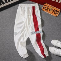 Mens Joggers Casual Pants Fitness Patchwork Drawstring Sweatpants New Brand Male Sportswear Bottoms Skinny Trousers Gyms Pants 200925