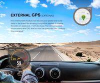 FreeShipping Plus Duo Car DVR Dash Cam с камерой сзади Камера Автомобильный видеорегистратор Quad HD Night Vision Sony Sony Destor Dashcam с GPS