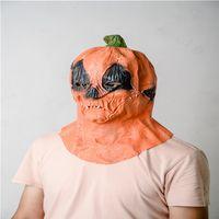 2020 Cadılar Bayramı Kabak Maskeler Cosplay Tam Yüz Tasarımcılar Unisex Terör Korkunç Maske Kapak Kadın Erkek Parti Festivali Oyuncak LY9273 Malzemeleri Maske