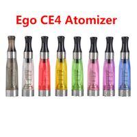 Ego CE4 ClearoMizer Zerstäuberkartomizer CE5 CE6 Tank 1.6ML Verdampfer für Ego-T Ego-K Batterie E Zigarettenstarter Kits 8 Farben DHL