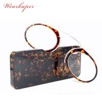 Occhiali da sole Wafakskaper Retro naso a riposo pizzico per occhiali da lettura portatile con portafoglio con scatola prescrizione occhiali da 1,0 a 3.5