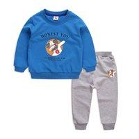 Ragazze dei neonati che coprono insieme 2020 autunno inverno bambino Outfits Abbigliamento ragazzi Wears I bambini Tuta per 2 3 4 5 6 Anni