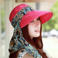 Summer Spring Hat for Women Chapeu Feminino Foldable Visors ...