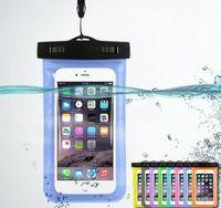 Impermeable a prueba de agua bolsa Bolsa brazalete bolsa caso para el Universal casos a prueba de agua durante todo el teléfono celular de la envío-4