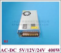 LED-Schaltnetzteilschalter POWER 400W Eingang AC110 / 220V Ausgang DC5V / DC12V / DC24V CE Aluminium