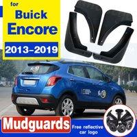 pour Opel Mokka X pour Vauxhall / Buick pour Encore 2013-2019 Car boue Rabats Fender Fusées Garde-boue Bavettes Bavettes