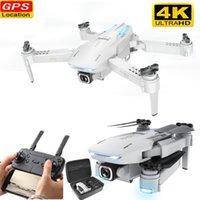 Новый GPS RC Drone с камерой 4k 50x Zoom Mini Drone Регулируемый широкоугольный WiFi жест FPV RC Quadcopter Dron VS S167 SG907