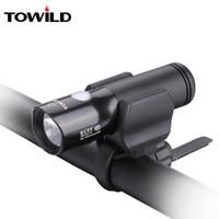 أضواء الدراجات Towild BC05 CREE XM-L2 U3 LED 1100 شمعة الضوء الأمامي في الهواء الطلق IPX-6 ماء دراجة المصباح