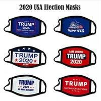 Trump Biden Yüz 2020 Amerika Başkanı Seçim Malzemeleri Yıkanabilir Nefes toz geçirmez Cosplay Tasarımcı Maske DDA402 Maskesi