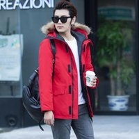 Новый роскошный вниз идут новления жилет куртка канадский стиль мужчины дизайнер куртка мужчин высокого качества зимы вниз мужской дизайнер Теплое пальто и вниз пукли