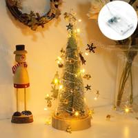 크리스마스 조명 LED 스트링 Jingling Bell 3000K 2m 20leds 야외 안뜰 장식 DHL에 대 한 휴가 조명