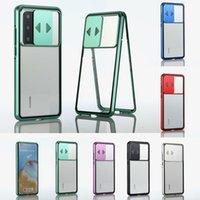 Yeni Varış Lens Koruma Anti Peeping Çift Taraflı Cam Cep Telefonu Kılıfı Manyetik iPhone 11 11pro Max X XS XR XSMAX 7 8 artı