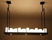 مصباح طبق الاصل كيفن رايلي مذبح قلادة شمعة الصمام الثريا خمر الرجعية المعدنية الخفيفة اعبا اساسيا تحكم عن بعد ضوء تعليق