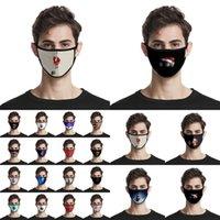 Cara de Navidad Máscaras adultos de los niños la manera 3D de Santa Claus Elk impresión Máscaras anti polvo reutilizable lavable Boca Cubierta de Navidad Cara Máscaras CYZ2679