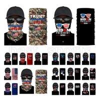 Trump Gesichtsmaske 2020 US-Flagge Schutz Outdoor Radfahren Bandana Stirnband Präsident Trump Biden Wahl Masken magischer Schal CYZ2722 Maske