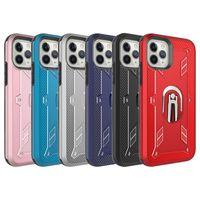 Para el iphone 12 6.1 6.7 La caja móvil de accesorios de telefonía soporte de aire acondicionado de coches ventClip armadura 2 en 1 caja del teléfono B