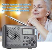 Radyo Taşınabilir Tam Dijital Demodülatör FM / AM / SW / LW Stereo İnternet LED Ekran Hoparlörler Hediye