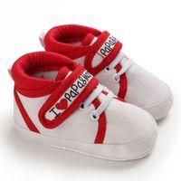 Scarpe EBainel tela di canapa di bambino della scarpa da tennis di sport dei ragazzi delle ragazze amano il mama bambino appena nato primo camminatore infantili molli pattini inferiori