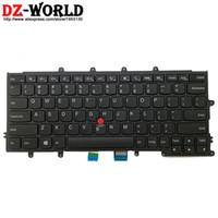 Teclados de substituição de laptops nos teclados de inglês para lenovo thinkpad x230 x240 x240 x240s x250 x260 04y0900 04y0938