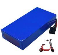67.2v şarj cihazı ile ücretsiz nakliye Yüksek kaliteli Yedek Elektrikli scooter pil 60V 20ah lityum 1200w pil