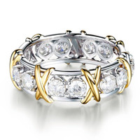 High Quality Rings Best Seller Jewelry Gold Plated Zircon Rings Fashion Women Ring Engagement White Diamond Ring