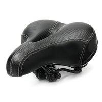 Faire du vélo Big Bum Selle route VTT Vélo Large Soft Pad Coussin Confort