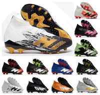 2020 zapatos Predator mutadores 20.1 Alto AG PP durante el vuelo para hombre de Paul Pogba Niños Fútbol Fútbol Tamaño 39-45 cargadores de las grapas