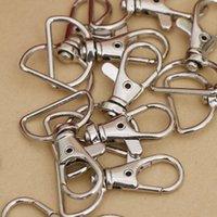 Métal pivotant Trigger Fermoir mousqueton porte-clés anneau Paracord bricolage Craft Longe Sac à dos Pièces Hanger